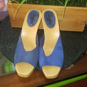 Candies/ Candies Vintage peeptoe heel